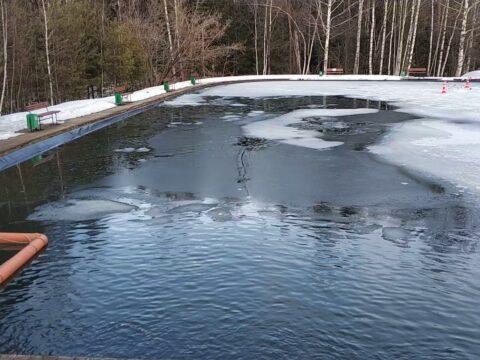 Подготовка пруда с рыбой к зиме