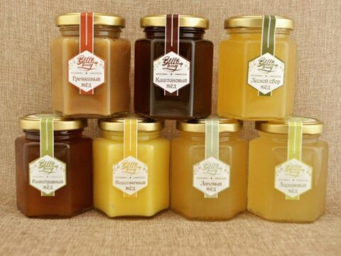 Виды мёда. Классификация фото