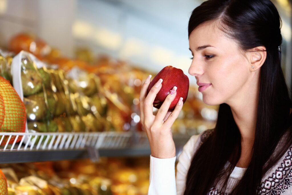 Соблазнительные запахи в супермаркете